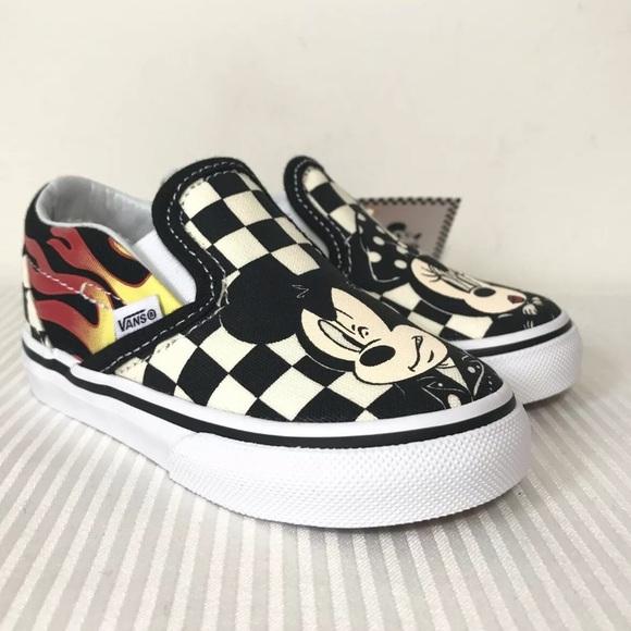 Vans Other - Vans x Disney Slip-On Mickey & Minnie Sneakers